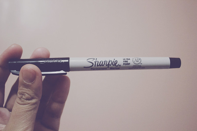 hello sharpie!