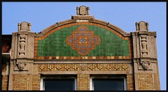 Roofline: Monticello Ballroom Building, 14421-29 East Jefferson Avenue--Detroit MI