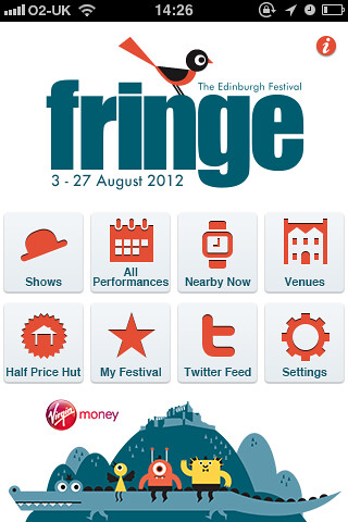 EdFringe 2012 smartphone apps go live