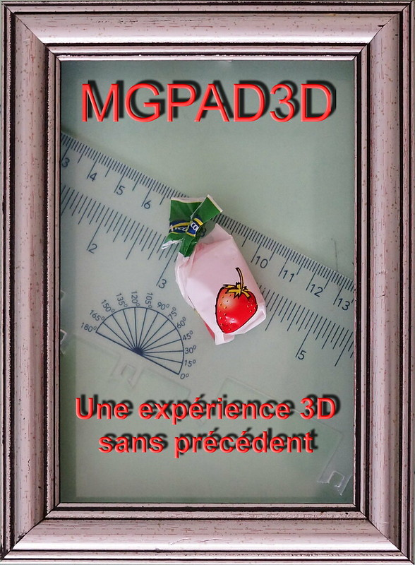 Le MGPAD3D model 1