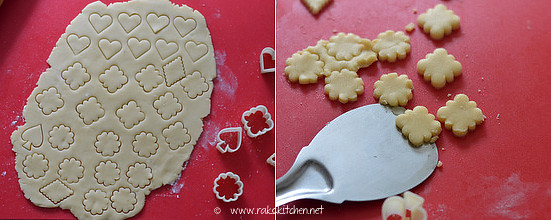Shortbread cookies recipe step 5