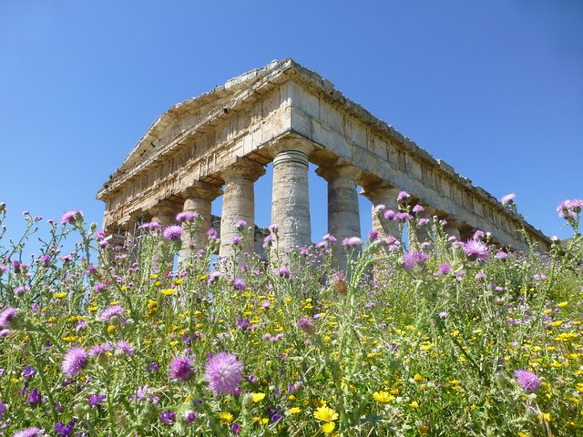 Ancient Temple at Segesta