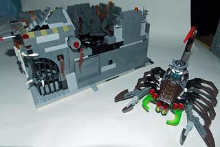 LEGO Chima MOC - Scorpion Palace Ruins 8