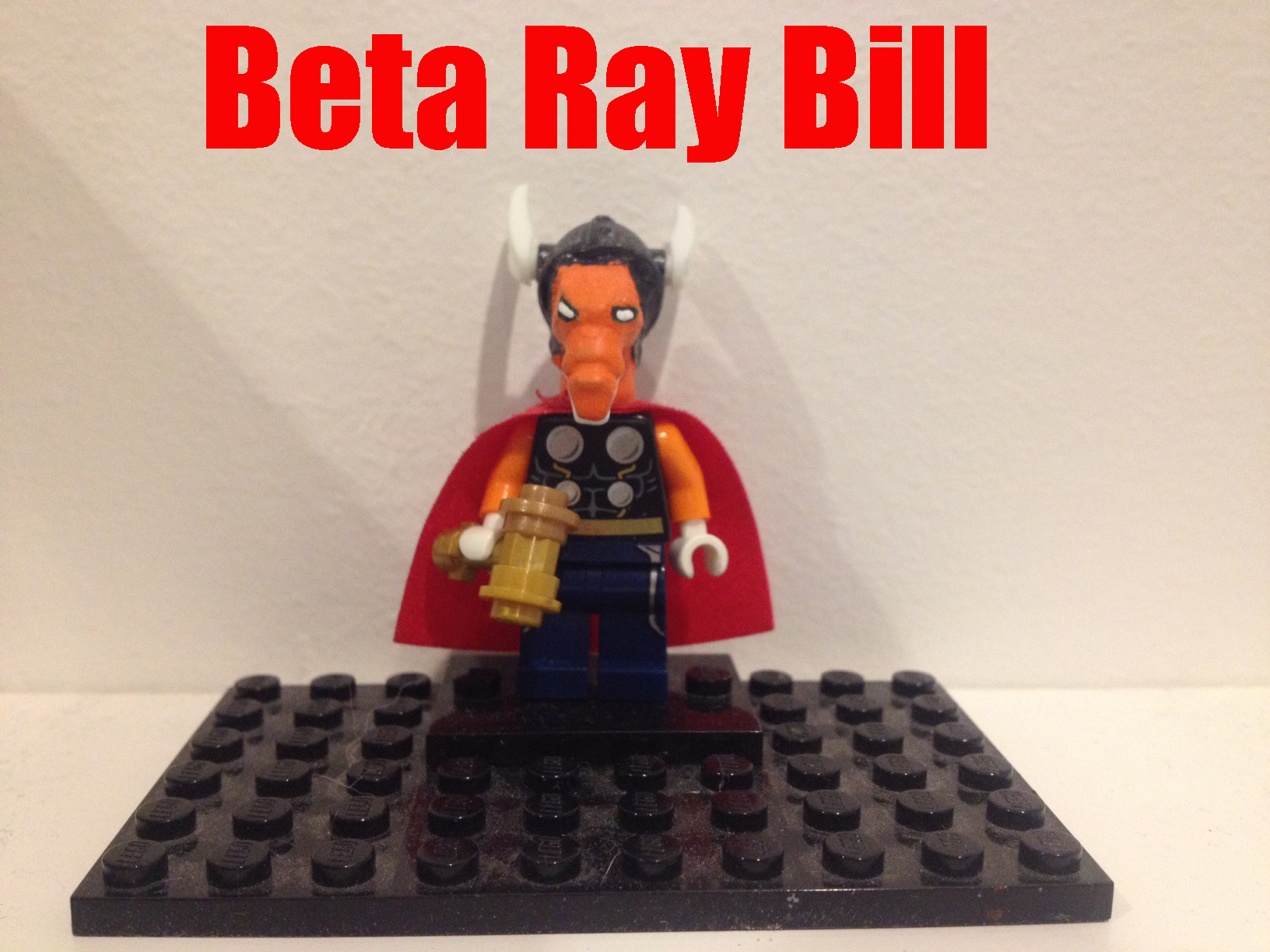 lego beta ray bill - photo #5