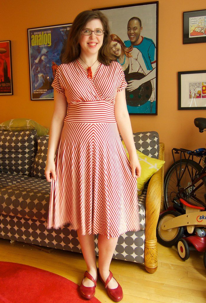 Me Made May 1: Throwing on a Knit Dress