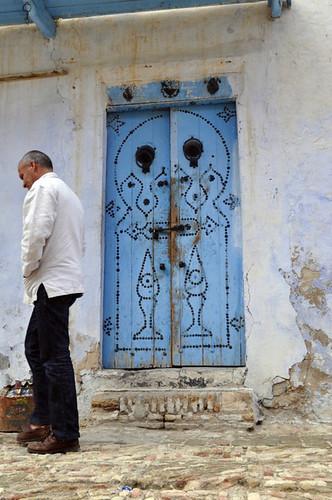 Puerta del barrio alrededor de la Gran Mezquita de Kairouan Kairouan, la cuarta ciudad más santa de la fe musulmana - 14105348016 5ed179a9e0 - Kairouan, la cuarta ciudad más santa de la fe musulmana