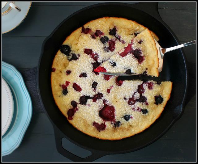 Baked Berry Pancake