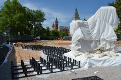 High-tech environment for future trees at Toomer's Corner
