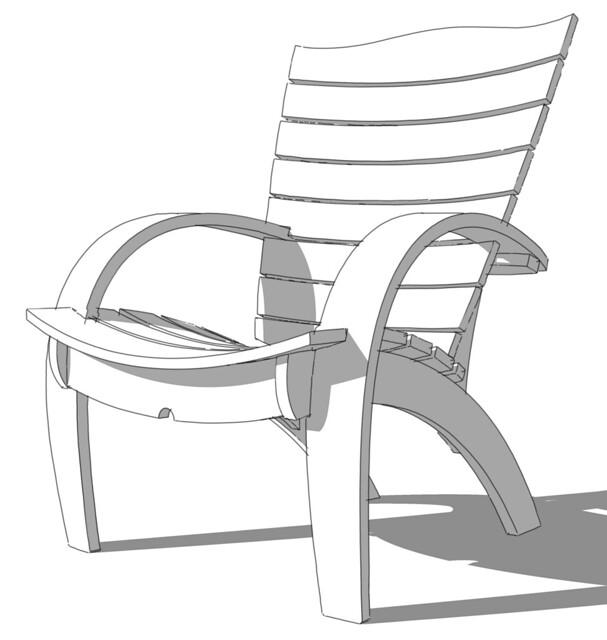 Adirondack Chair - Gallery - SketchUp Community
