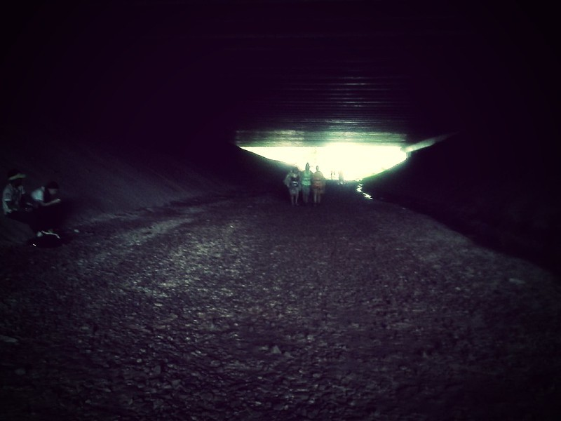 One of the underground pass we walked through.