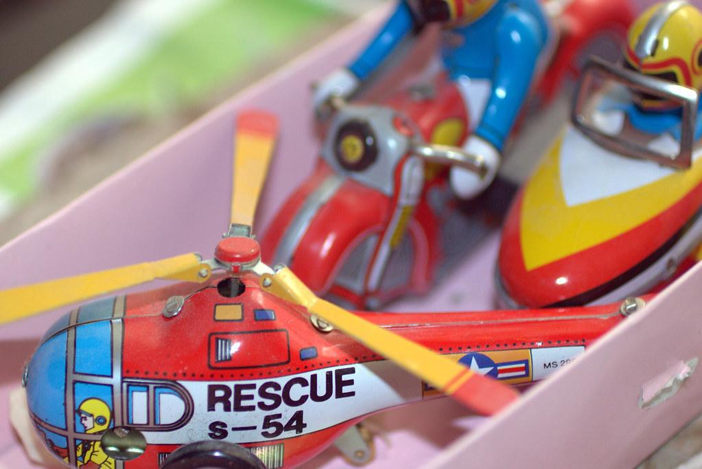 Los juguetes ayudan a contar historias