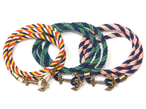 Kiel James Patrick / Lanyard Hitch Bracelet