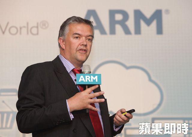 ARM 行銷長暨市場開發執行副總裁 LAN Drew