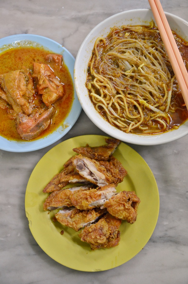 Chuan Fatt Curry Mee in Ipoh