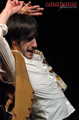 Cristian Pérez bailando en Casa Patas. Foto: Martín Guerrero