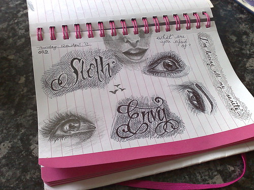 Sketchaday002 ~ Part deux
