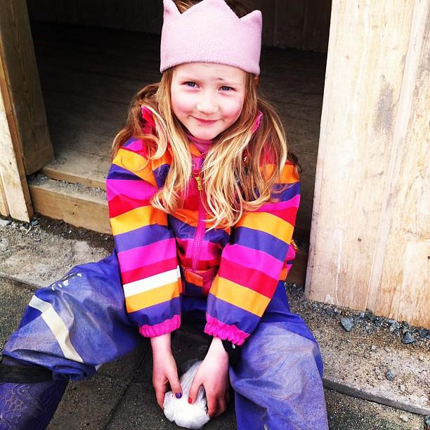 Emilie på barnehagen