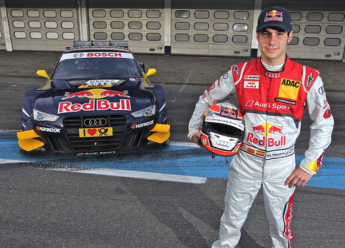 Miguel Molina y su nuevo Audi A5 DTMG
