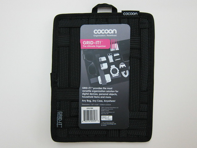 Cocoon Grid-It - 7.25 x 9.25 - Front View