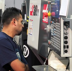 Closer Look at a Haas DS-30Y