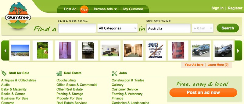 Free Local Classifieds Ads from Australia - Gumtree-3