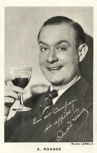 André Roanne. publicity for Campari