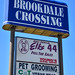 Small photo of Brookdale Crossing sign