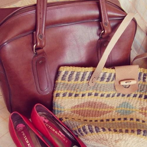 Zapatos y bolso vintage