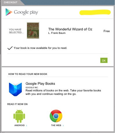 Free eBook on Google Play