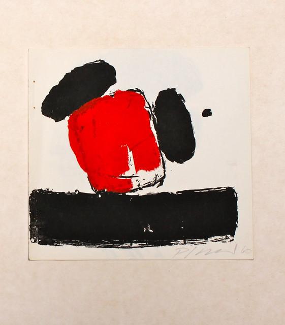 georg karl pfahler lithographie und gouache flickr. Black Bedroom Furniture Sets. Home Design Ideas