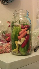 vegetable, pickling, mason jar, produce, food preservation, food, cooking, canning,