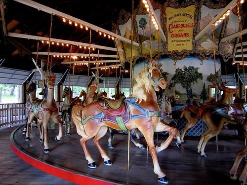 Dentzel Carousel Horse Weona Park Pen Argyl PA