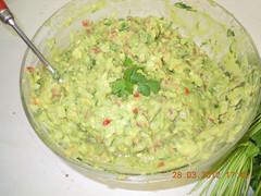 Guacamole - Comida clases alfarería
