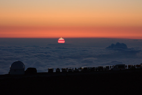 Mauna Kea: Sunset at 13,796 ft.