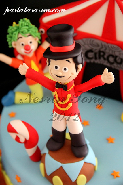 THE CIRCO BIRTHDAY CAKE