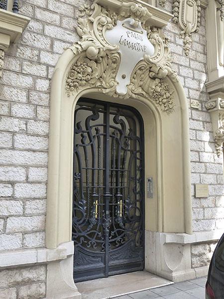 porte du palais