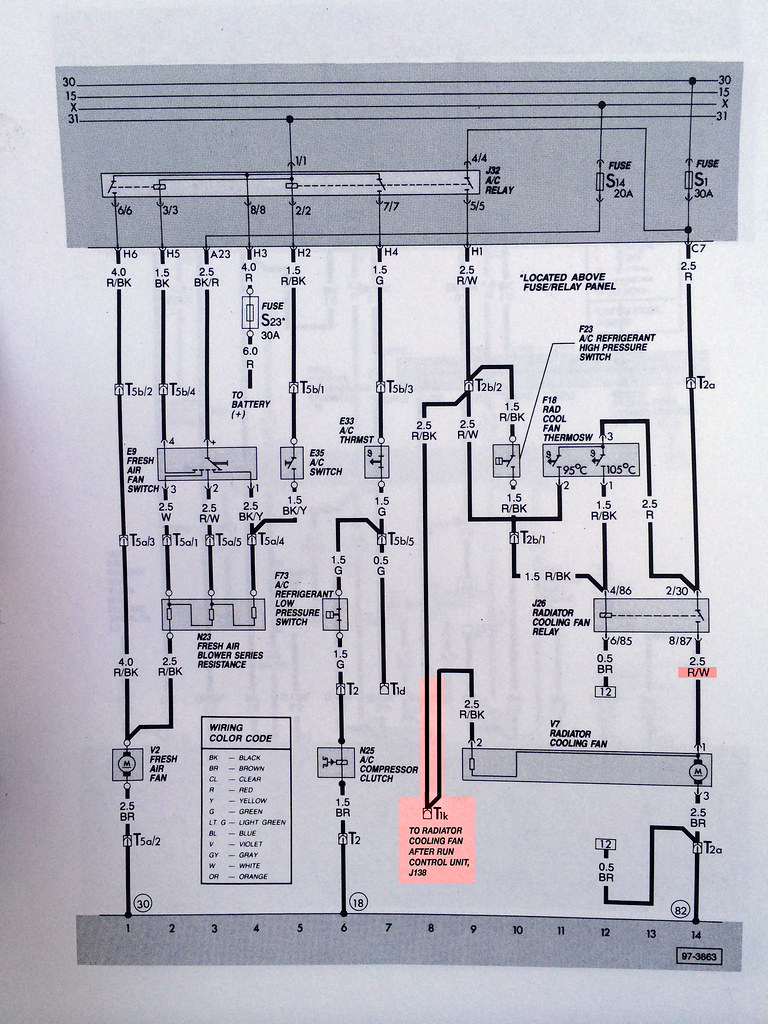 Radiator Fan Wiring Diagram : Vwvortex errors in the wiring diagrams for a c