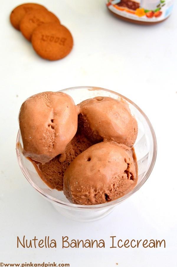 Homemade Nutella Icecream Recipe