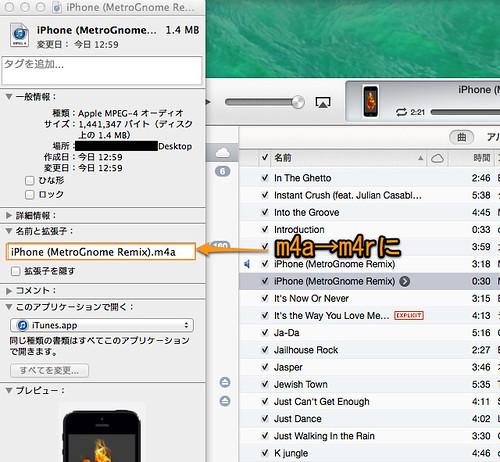 iPhone (MetroGnome Remix).m4a の情報