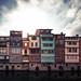 Maisons sur l'Agout by la mirgue