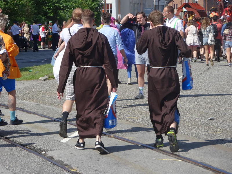 Typical monks.