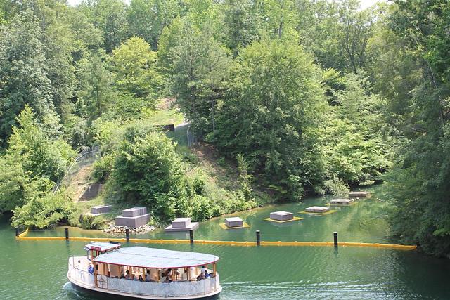 Rhine River Boat Ride Busch Gardens Williamsburg Va