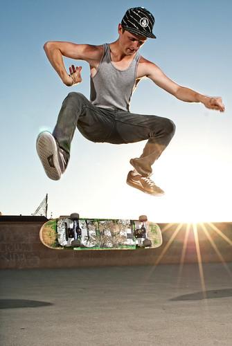 Skateboarding 01