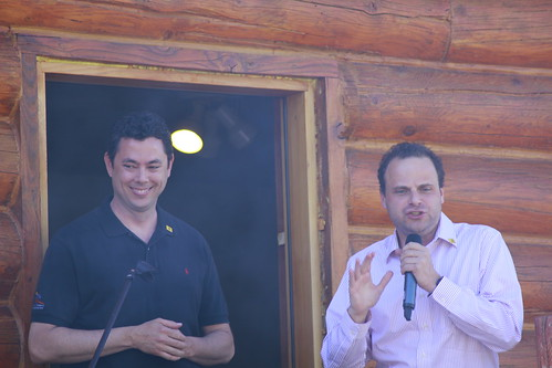 Jason Chaffetz and Greg Peterson