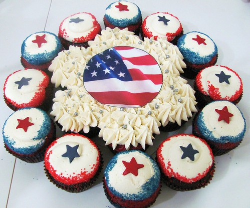 4th of July by Miss Cupcakes