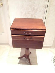 table(0.0), filing cabinet(0.0), drawer(1.0), furniture(1.0), wood(1.0), chest of drawers(1.0), chest(1.0), nightstand(1.0),
