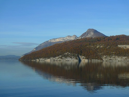 Autumn on Lake Annecy