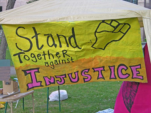 stand together against injustice