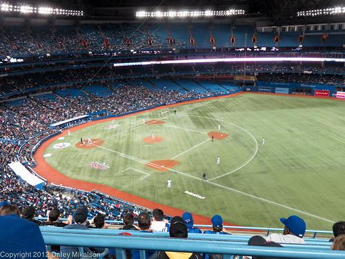 2012 Season pass seat view