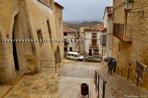 Calles de Morella (Castellón, Comunidad Valenciana)